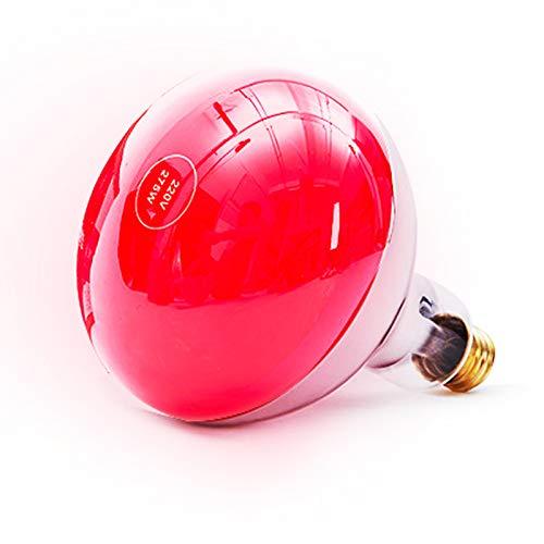 275W Infrarot-Lampe Infrarot-Wärmelampe für Rotlichttherapie Red Light Therapy Infrared Heat Lamp