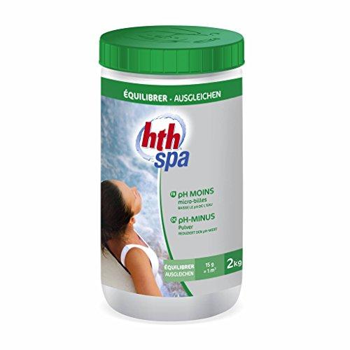 Alice's Garden - Entretien de l'eau du spa, pH MOINS HTH traitement en poudre, 2kg