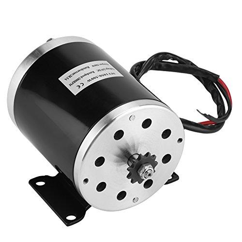 Motor con soporte Motor cepillado de imán permanente de alta velocidad, fuerte 2500 RPM para scooter eléctrico de bicicleta motorizada