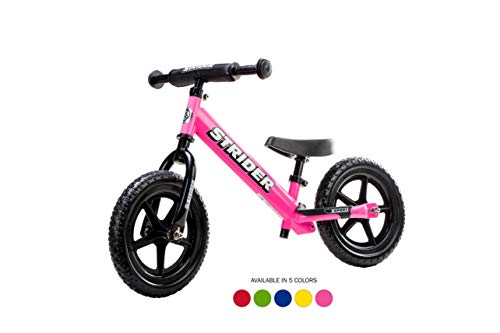 Learn More About Strider - 12 Sport Balance Bike, Ages 18 Months to 5 Years, Pink