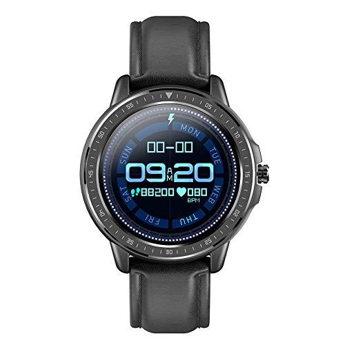 Fitness-Tracker-Uhr, Aktivitätstracker mit Herzfrequenz- und Blutdruckmessgerät mit 3,3 cm, wasserdicht, Smart-Armband mit Schrittzähler, Schlafüberwachung