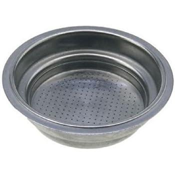 Accesorios para manijas de filtro de m/áquina de caf/é filtro de caf/é duradero reutilizable de aleaci/ón con manija Comercial para el hogar para Electrolux EES200 EA120 BRE