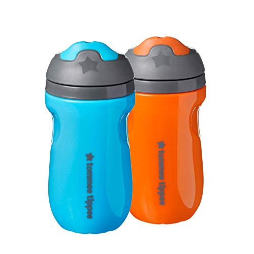 Tommee Tippee Insulated Sippee Toddler Sippy Cup, Spill-Proof – 12+ Months, 2 Count