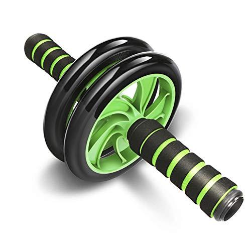LZZJ Equipo de Ejercicio Muscular Equipo de Ejercicio Equipo de Fitness Doble Rueda AB Power Wheel AB Roller Gym Roller Trainer (Color : Standard, Size : One Size)