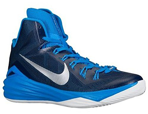 Nike Women's 2014 Hyperdunk Basketball Shoes, Nav/Wht, SZ 12