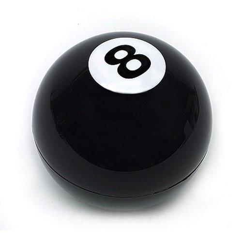 """Mystic Ball - 8 Nero palla da biliardo magica """"veggente"""" DECISION BALL"""