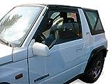 J&J AUTOMOTIVE | Deflecteurs d'air déflecteurs de Vent Compatible avec Suzuki Vitara Et 2 Portes 1989-1998 2 pièces