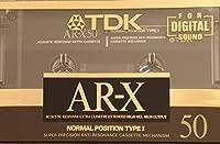 TDK カセットテープ AR-X 50分 AR-X50M