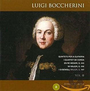 Luigi Boccherini: Quintets for Guitar and String Quartet, Volume II