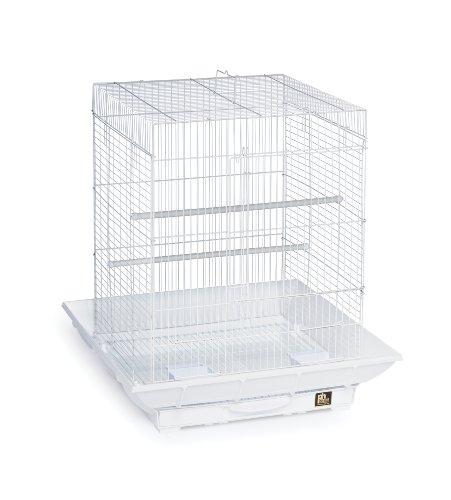 """Prevue Hendryx SP850W/W Clean Life Cockatiel Cage, White,1/2"""""""
