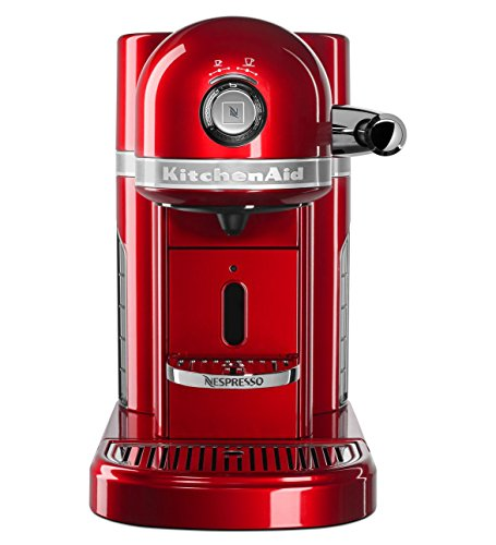 KitchenAid KES0503CA Nespresso Maker, One Size, Candy Apple