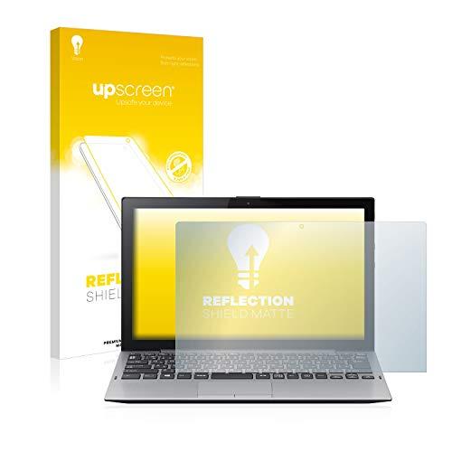 upscreen Entspiegelungs-Schutzfolie kompatibel mit Sony Vaio A12 – Anti-Reflex Bildschirmschutz-Folie Matt