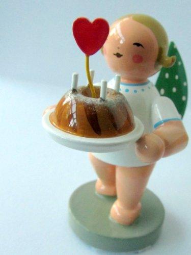 Wendt & Kühn 650/154 Engel mit Kuchen und Herz