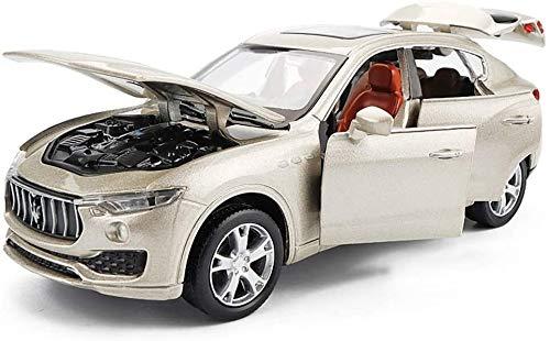 LLZYZJ De fundición de aleación Modelo de Coche Maserati Levante Modelo, 1/32 simulación de Sonid