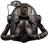 BENREN Fallout 4 Accesorios de Disfraces de Halloween, Casco de Cosplay, Máscara de Gas de Radiación de PVC, Videojuegos, Mascarada, Juegos de Películas de Terror, Adecuado para Adultos,Black