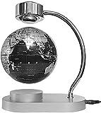 ZSMLB Decoración del Globo del Mundo Lámpara de Globo Flotante de 6 'Globo Flotante magnético Negro para decoración del hogar Decoración de Escritorio
