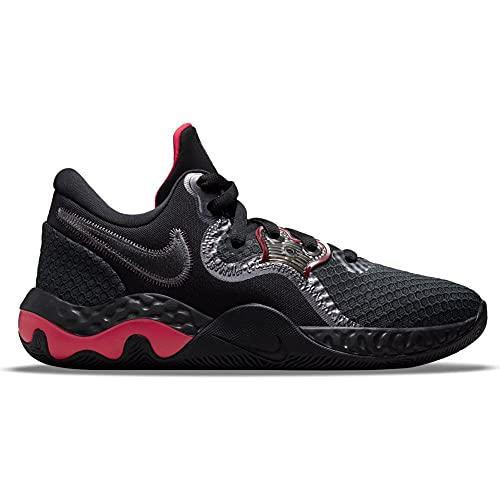 Nike Renew Elevate 2, Scarpe da Basket Unisex-Adulto, Anthracite/Black-Gym Red-Mtlc Dark Grey, 47.5 EU