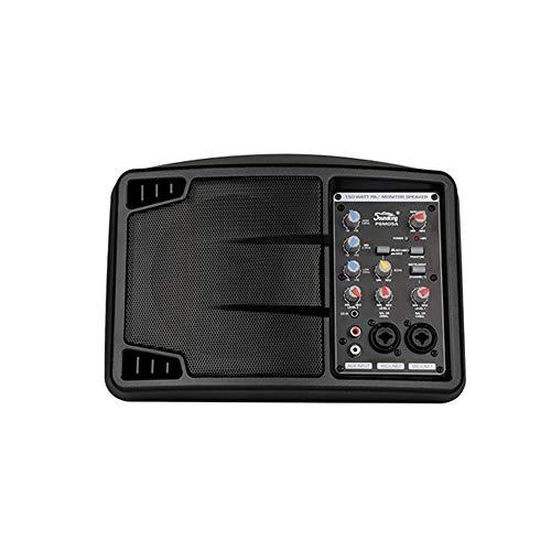 ZJH Altavoz Bluetooth Multifuncional, 5 Pulgadas De Monitor De Altavoz Activo Monitor...