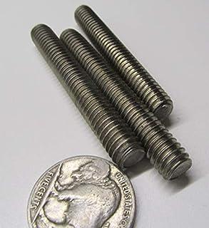 18-8 Stainless Steel Fully Threaded Round Rod 5//16-18 Diameter x 1.00 Length 10 Pcs.