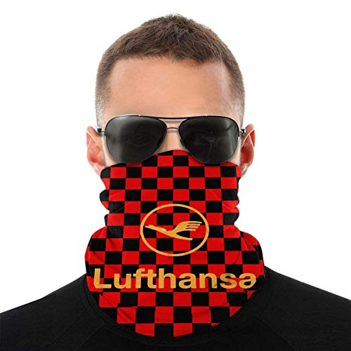 Not Applicable Headband,Lufthansa Airline Symbol Magic Schal, Bequeme Magic Scarfs Für Party Outdoor Sport,25x50cm