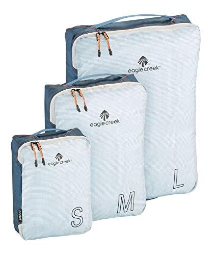 Eagle Creek Pack-It Cube EC0A3CXG231 Lot de 3 sacs de rangement Bleu indigo Taille S/M/L