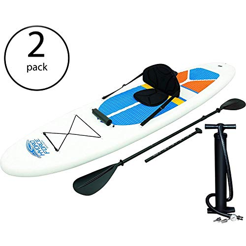 Bestway Hydro-Force White Cap Inflatable SUP Stand Up Paddle Board (2...