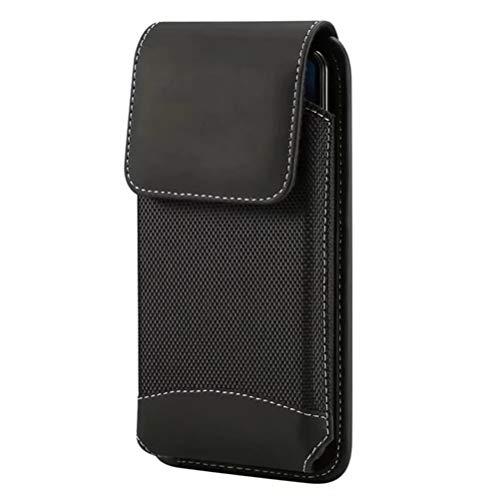 GFPR Handy Gürteltasche, Segeltuch Handy Tasche Taillepäckchen für Menschen mittleren Alters und ältere Menschen 4.7-5.2 inch