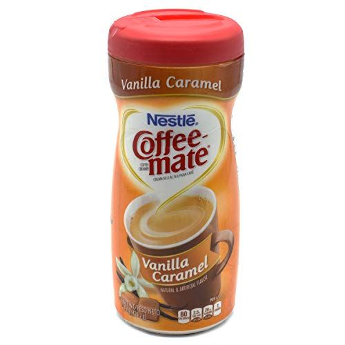 Nestle Coffee-Mate Vanilla Caramel, 1er Pack (1 x 425 g Dose)