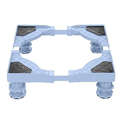 XYW Dollies Móvil de Base - Nevera Lavadora Base Soporte Ajustable del sostenedor del Soporte de Acero Inoxidable Nevera Nevera Accesorios Base Conveniente Carrito móvil de Muebles Ajustable