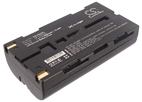 2600mAh Replacement Battery for PANASONIC CF-VZSU22