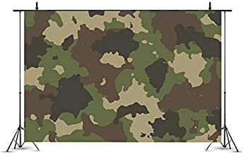 Customizable Background, Army Camouflage Backdrop for Military Soldier, Jungle Theme, Summer Outdoor, Birthday Party, Boy Photography, Event, Table Décor, Baby Shower Photo Booth Background