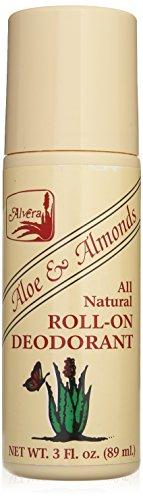 Alvera All Natural Deo Roll-on Aloe und Mandeln, 85 ml, 85 ml