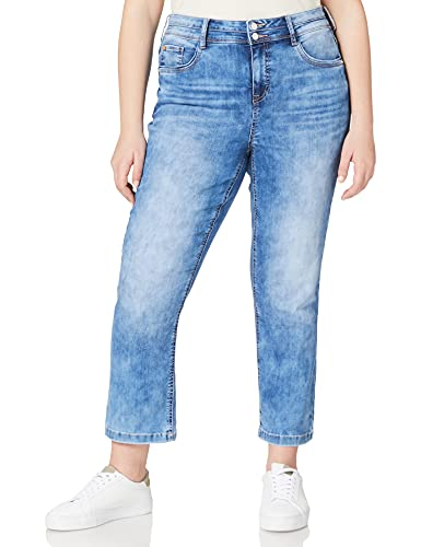Street One Damen Tilly Jeans, Fresh Blue Acid wash, W29/L28