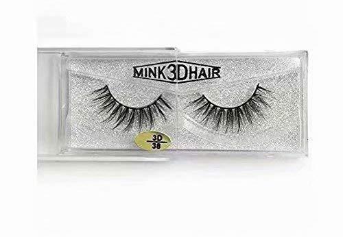 1 paar Luxus 3D falsche Wimpern, weiche Streifen Wimpern lang natürliches Make-up für Fashion Women