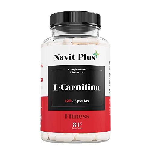 ¿POR QUÉ L-CARNITINA?. La L-CARNITNIA de Navit Plus te ayudará a conseguir tus objetivos. Nos aportará ese plus de energía y resistencia para llevar nuestro ejercicio físico al más alto nivel. BENEFICIOS DESTACADOS: L-CARNITINA es un potente quema gr...