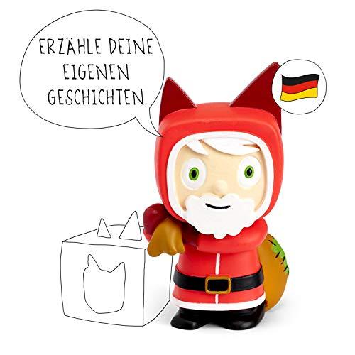 tonies Hörfiguren für Toniebox - Kreativ Weihnachtsmann - ca. 90 Minuten Speicher für Deine Musik, Geschichten, Hörbücher und Eigene Audiodateien - DEUTSCH