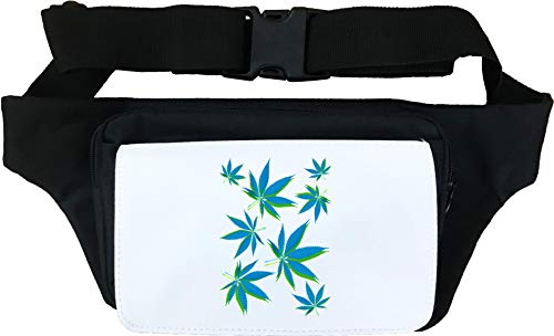 Cannabis Leaves In The Fall Smokers Graphic Cangurera