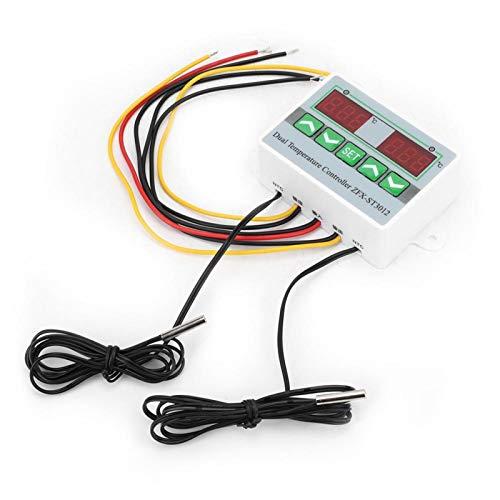 Controlador de temperatura Microordenador eléctrico Therm Intelligent -50 ℃ 〜110 ℃ con pantalla de tubo digital(220V)