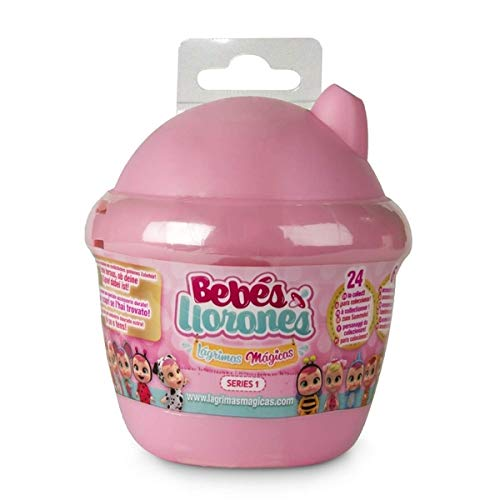 IMC GIOCHI Novidea Cry Babies Magic Tears Bambole in Capsula Rosa Prima Serie