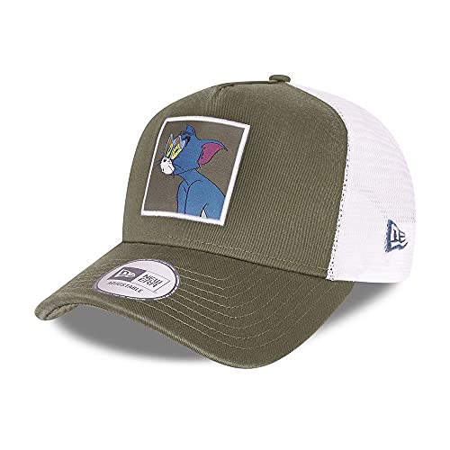 New Era Tom Olive Tom and Jerry A-Frame Adjustable Trucker Cap - One-Size