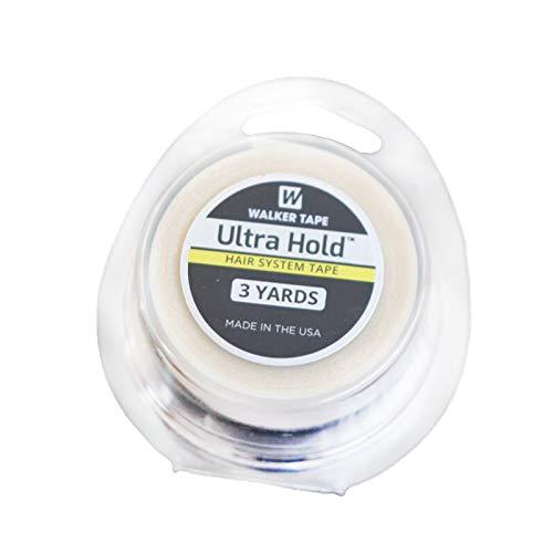 Ultra Hold Walker Dubbelzijdig Roll Tapes Stickers Zelfklevend Mannen Haarvervanging Toupetje Haarverlenging Pruik Bundels Sluiting Kant Frontale(3 meter & 3/4 inch)