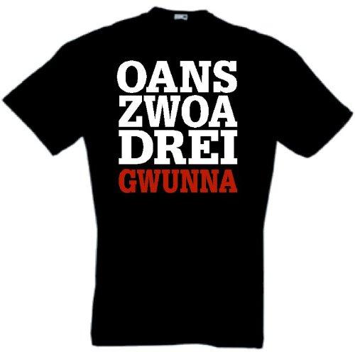 Oans, Zwoa, Drei, Gwunna Triple München T-Shirt von S-XXXL