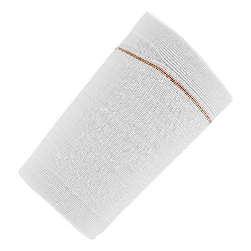 Ugo Fix Band (x4) - Katheter Beinbeutel Halter/Katheterbeutelbezug, starke und langlebige Fasern mit Außennaht, waschbar und wiederverwendbar inkl. gratis Wäschesack (4 Stück) (Groß)