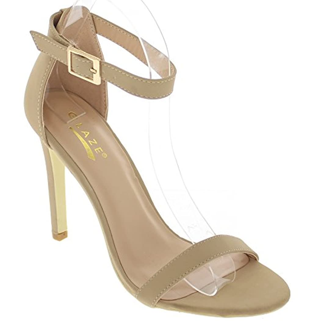 Glaze Open Toe Stiletto Sandal