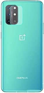 FanTing Camera Lens Protective Film for OnePlus 8T, Transparent, Ultra-thin,Scratch-resistant,Soft Tempered Glass Lens Pro...