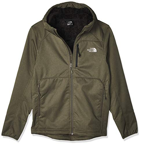 The North Face Quest HD Giaccha Softshell Taupe Green