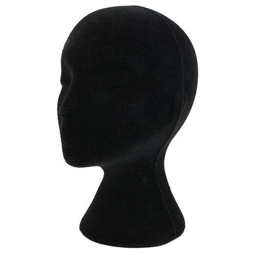 hearsbeauty Damen Styroporkopf Modellständer Mannequin Mannequin Kopf Perücke Brille Hut Display Halter