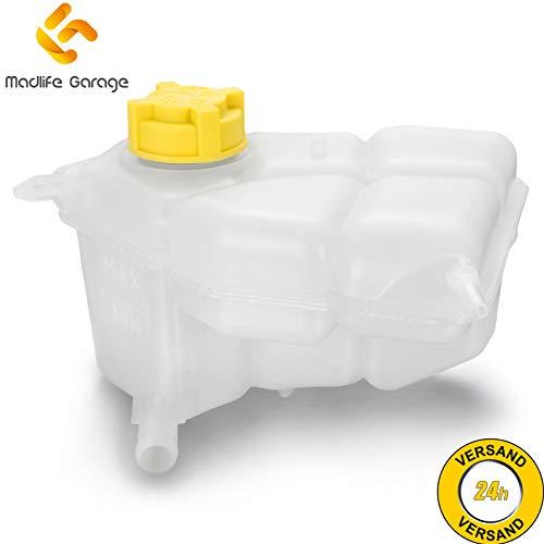 Madlife Garage 1221362 Ausgleichbehälter Kühlmittel Kühlmittelbehälter mit Deckel Fiesta V JH