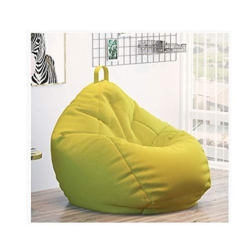 RKRXDH Sofa Perezoso casero Puff Bean Bag/Gamer Sillon Reclinable Y Puf De Tamano Grande For Exteriores E Interiores For Videojuegos For - Asiento De Silla Puf (Color : Green, Size : 35.43x43.31in)