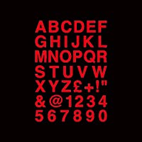 junjie006 車のステッカーパーソナライズされた古典的な文字と数字の体の防水ファッションビニールデカール、14cm * 20cm ビニールステッカー (Color Name : Red, Size : 30cm 21cm)